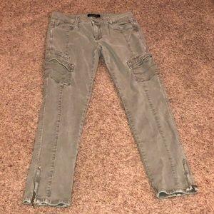White House Black Market khaki jeans